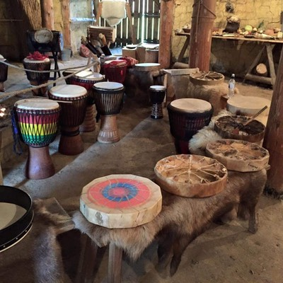 Roundhouse drums ready